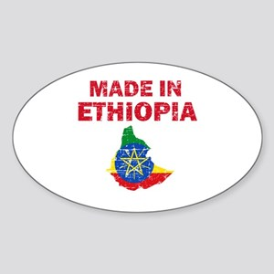 Made In Ethiopia Sticker (Oval)