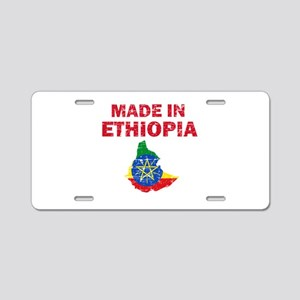 Made In Ethiopia Aluminum License Plate