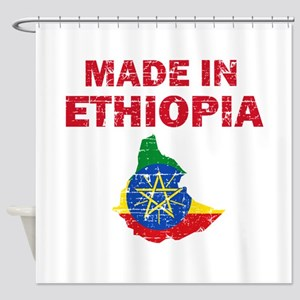 Made In Ethiopia Shower Curtain
