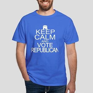 Keep Calm and Vote Republican Dark T-Shirt