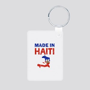 Made In Haiti Aluminum Photo Keychain