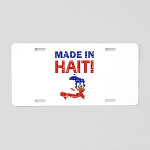 Made In Haiti Aluminum License Plate