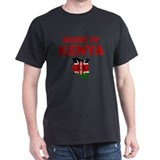 Kenya Mens Classic Dark T-Shirts