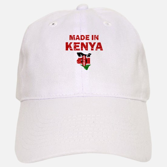 Made In Kenya Baseball Baseball Cap