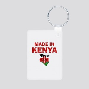 Made In Kenya Aluminum Photo Keychain