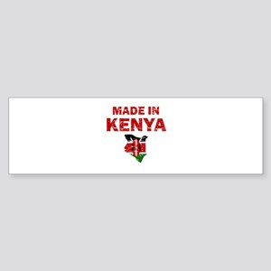 Made In Kenya Sticker (Bumper)