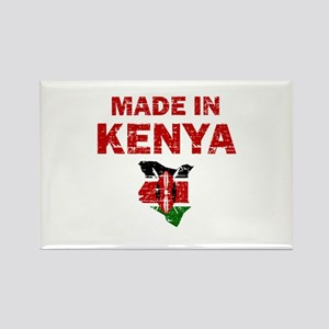 Made In Kenya Rectangle Magnet