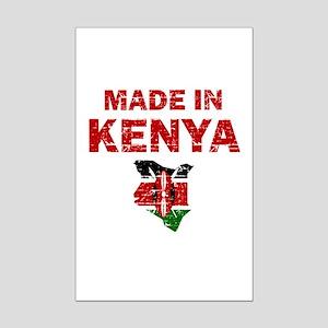 Made In Kenya Mini Poster Print