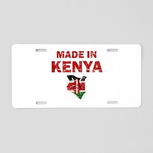 Made In Kenya Aluminum License Plate