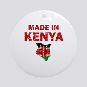 Made In Kenya Ornament (Round)