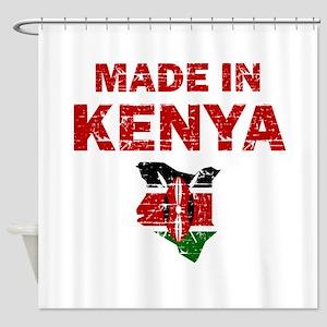 Made In Kenya Shower Curtain