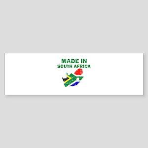 Made In South Africa Sticker (Bumper)