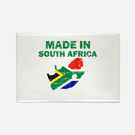 Made In South Africa Rectangle Magnet
