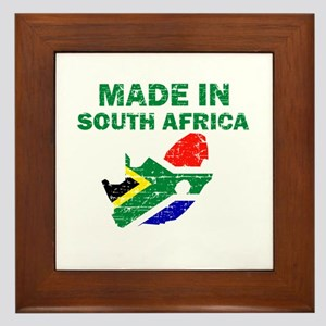 Made In South Africa Framed Tile