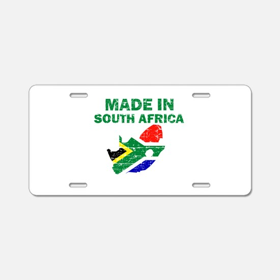 Made In South Africa Aluminum License Plate