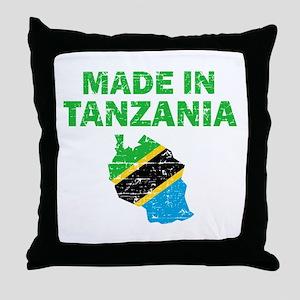Made In Tanzania Throw Pillow