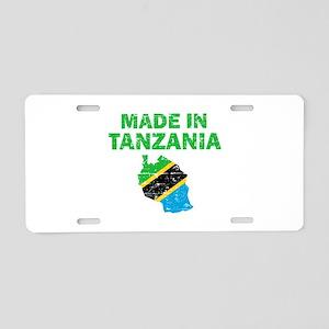 Made In Tanzania Aluminum License Plate