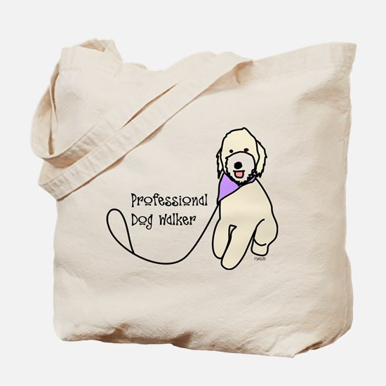 Professional Dog Walker Tote Bag
