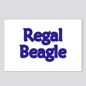 Regal Beagle Postcards (Package of 8)