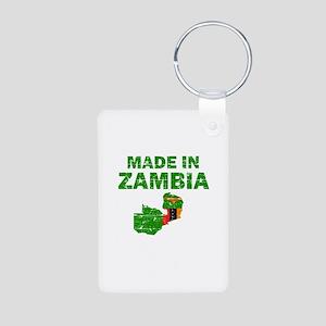 Made In Zambia Aluminum Photo Keychain