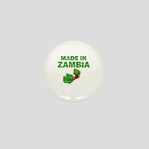 Made In Zambia Mini Button