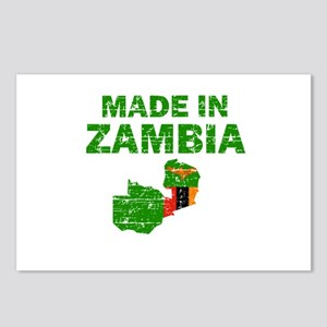 Made In Zambia Postcards (Package of 8)