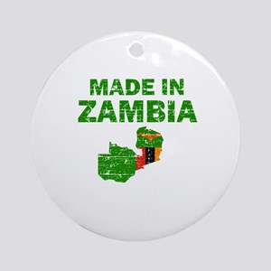 Made In Zambia Ornament (Round)