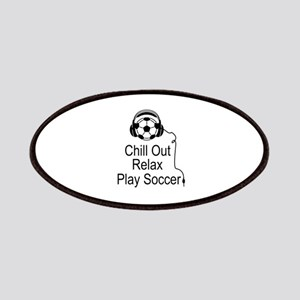 Cool Soccer Designs Patches
