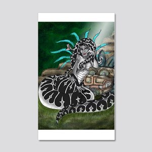 Feathered Serpent 20x12 Wall Decal