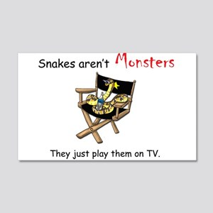 Movie Monsters 20x12 Wall Decal