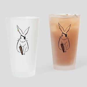 piratebunmerch Drinking Glass