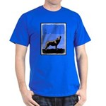 Winter Howling Wolf Dark T-Shirt