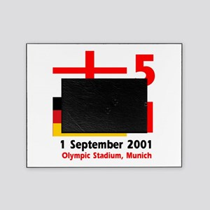 England 5 Germany 1 designs Picture Frame