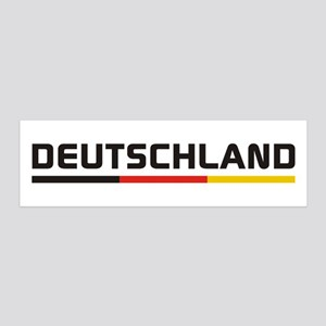 Soccer DEUTSCHLAND Stripe 20x6 Wall Decal