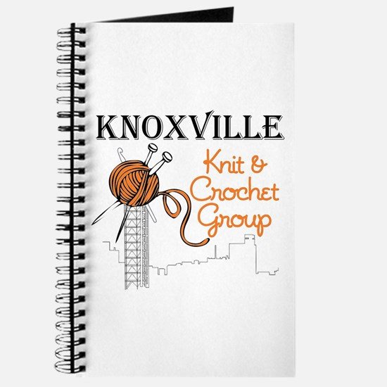 Knoxville Knit & Crochet Group Logo Journal
