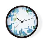 Atom Sea Wall Clock