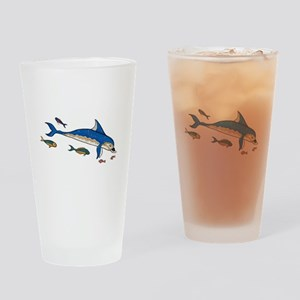 Knossos Dolphin Drinking Glass