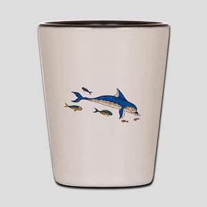Knossos Dolphin Shot Glass