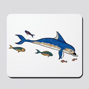 Knossos Dolphin Mousepad