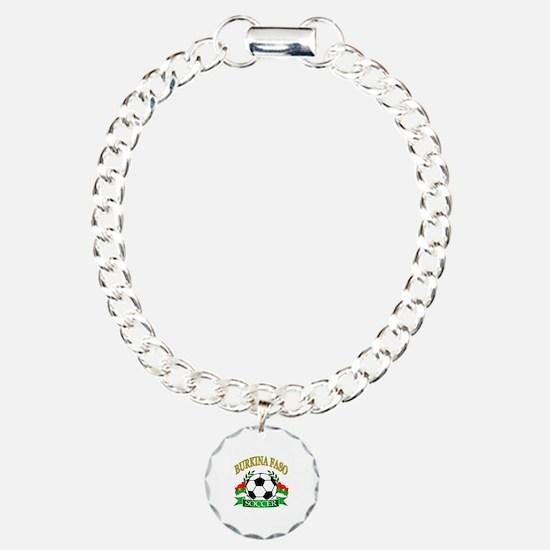 Burkina Faso Football Bracelet