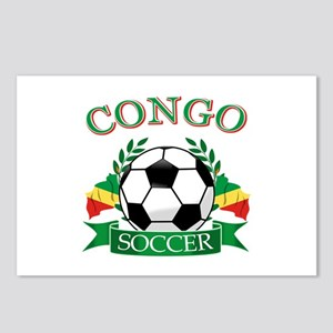 Congo Football Postcards (Package of 8)