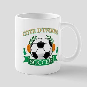 Cote D Ivoire Football Mug