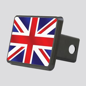 Union Jack UK Flag Rectangular Hitch Cover