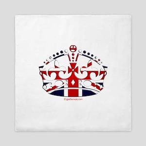 Royal British Crown Queen Duvet