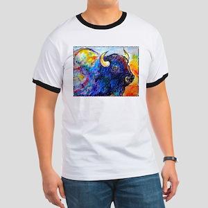 Buffalo, colorful art! T-Shirt