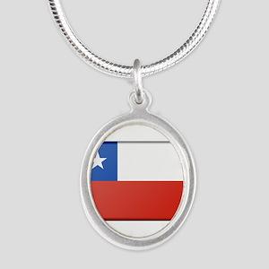 Chile Flag Necklaces
