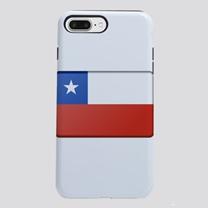 Chile Flag iPhone 7 Plus Tough Case