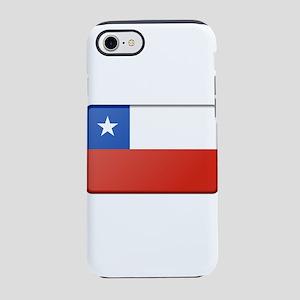 Chile Flag iPhone 7 Tough Case