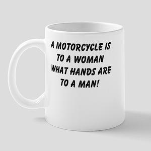 Motorcycles and women Mug