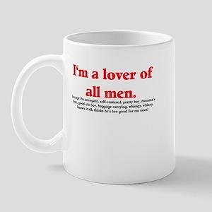 Man Lover Mug